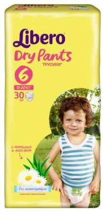 Подгузники Libero Dry Pants 6 (13-20 кг), 30 шт.