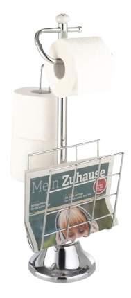 Держатель TOP STAR для туалетной бумаги с накопителем для 3-х рулонов и газетницей