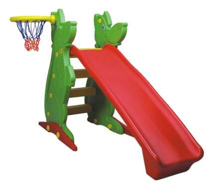 Горка KING KIDS с баскетбольным кольцом