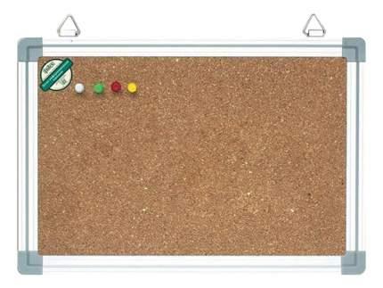 Доска Index пробковая в алюминиевой раме 90 x 120 см