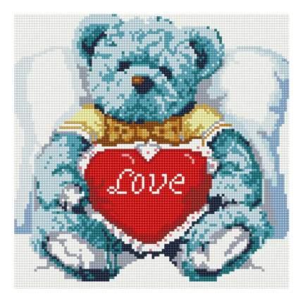 Мозаика Белоснежка Белоснежка медвежонок с сердцем