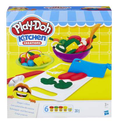 Набор для лепки из пластилина Play-Doh Приготовь и нарежь на дольки
