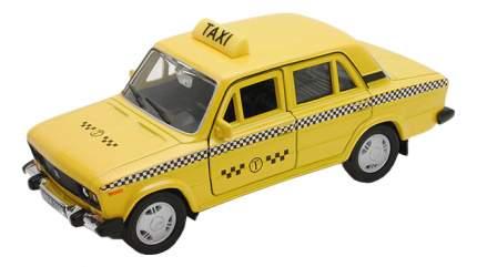 Модель машины Welly 42381TI 1:34-39 LADA 2106 Такси