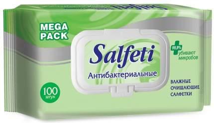 Влажные салфетки Salfeti Mega Pack 100 шт