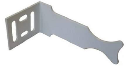Кронштейн для радиатора угловой Универсальный, белый (ИС.030107)