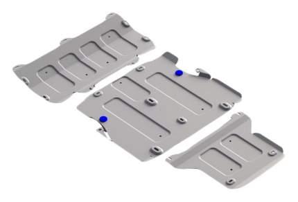 Защита картера, защита кпп RIVAL для Audi (K333.0337.1)