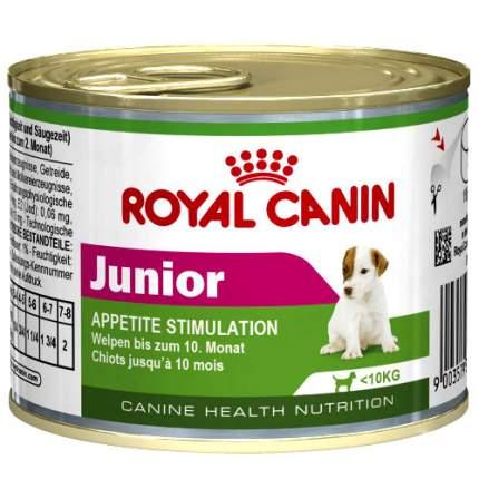 Консервы для щенков ROYAL CANIN Junior, курица, 195г