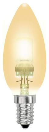 Лампа галогенная (04119) E14 42W свеча золотоая HCL-42/CL/E14 candle gold
