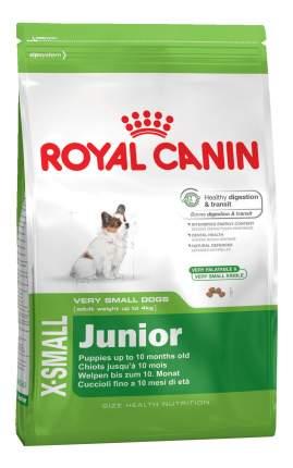 Сухой корм для щенков ROYAL CANIN Junior X - Small, птица, 3кг
