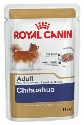 Влажный корм для собак ROYAL CANIN Chihuahua Adult, чихуахуа, мясо, 85г