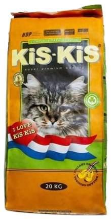 Сухой корм для кошек KiS-KiS, ягненок, 20кг