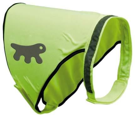Жилет для собак Ferplast светоотражающий размер L унисекс, зеленый длинна спины 66-78см