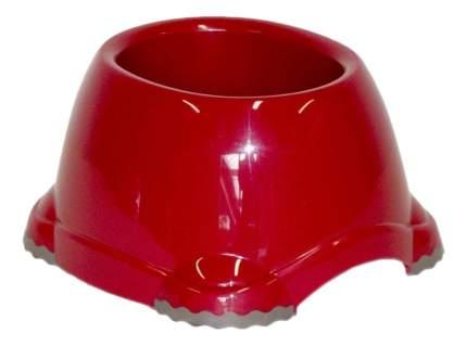 Одинарная миска для собак MODERNA, пластик, красный, 0.65 л