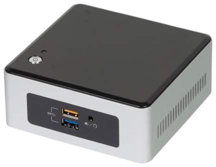 Системный блок мини Intel NUC NUC5PGYH0AJ 943610 Серебристый, черный