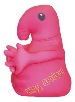 Игрушка-антистресс Оранжевый кот Хочун мини розовый