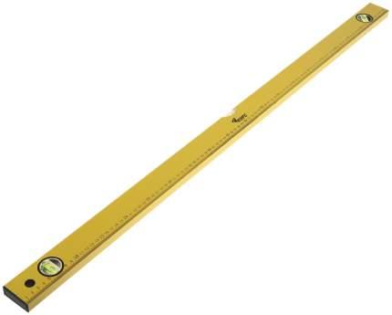 """Уровень пузырьковый """"Лайт"""", 3 глазка, желтый корпус, шкала 1000 мм КУРС 18015"""
