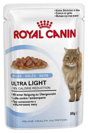 Влажный корм для кошек ROYAL CANIN Ultra Light, мясо, 85г