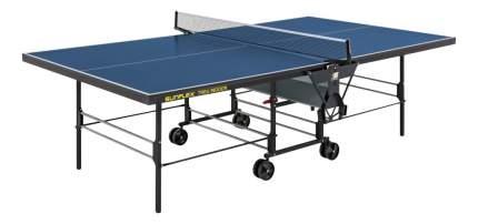 Теннисный стол Sunflex Treu Indoor синий, с сеткой