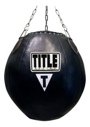 Боксерская груша Title Шар 30 кг черная