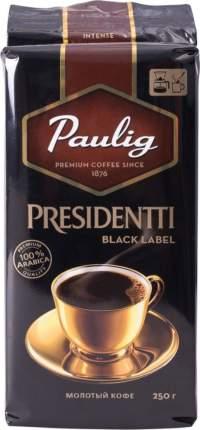 Кофе молотый Paulig presidentti black label 250 г