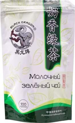 Чай зеленый Black Dragon молочный 100 г