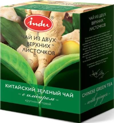 Чай зеленый Indu с имбирем крупнолистовой 90 г