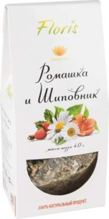 Чай травяной Floris ромашка и шиповник 40 г