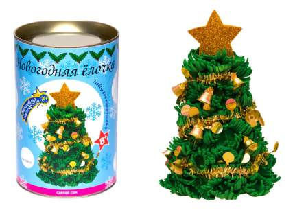 Набор для творчества Новогодняя ёлочка с украшениями 8+ Волшебная Мастерская ШФ-05