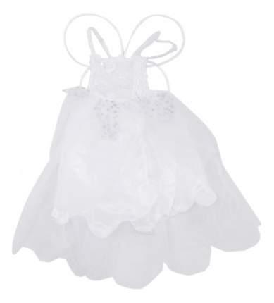 Карнавальный наряд Белое платье с крыльями бабочки 7-9 лет Snowmen Е92177-1