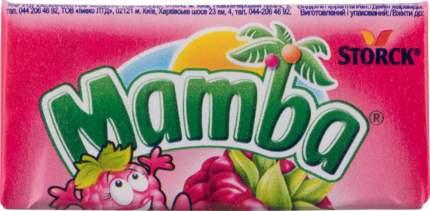 Конфеты жевательные Mamba со вкусом малины 26.5 г