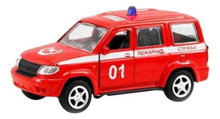Машинка инерционная УАЗ Патриот 3163 Пожарная служба 1:50 Play Smart