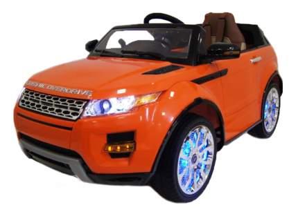 Электромобиль Range Rover VIP оранжевый RIVERTOYS