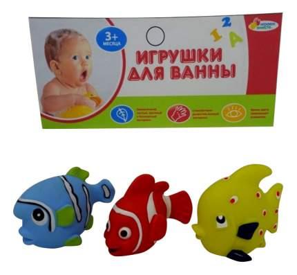 Игрушки для ванной 3 рыбки Играем вместе LXB174_173_175