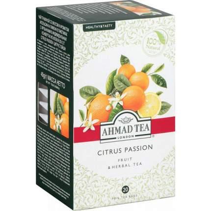 Чай фруктовый Ahmad Tea citrus passion 20 пакетиков