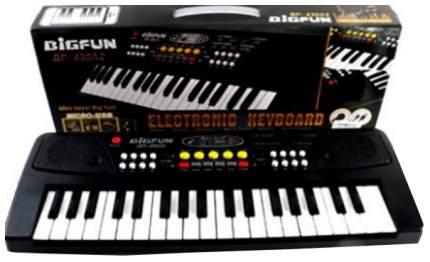 Пианино игрушечное Shantou Электронный синтезатор bigfun с микрофоном