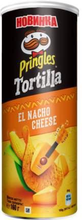 Чипсы кукурузные Pringles сыр начо 160 г