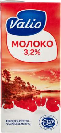 Молоко Valio elite ультрапастеризованное  3.2% 1 кг