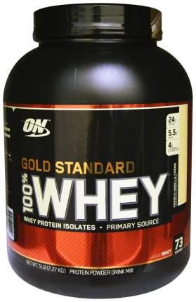Протеин Optimum Nutrition 100% Whey Gold Standard 2270 г French Vanilla Crème