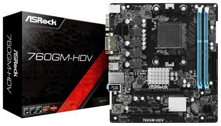 Материнская плата ASRock 760GM-HDV