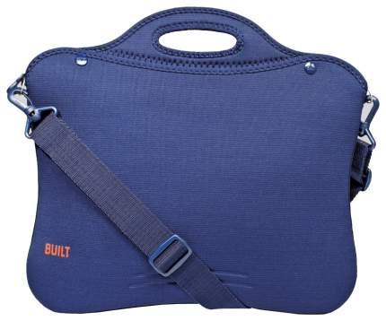 """Сумка для ноутбука 15.4"""" Built Laptop Portfolio Wide Navy Blue"""