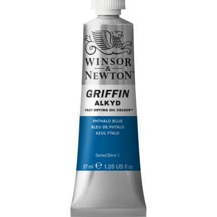 Алкидная краска Winsor&Newton Griffin синий фтало 37 гр