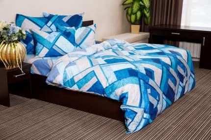 Комплект постельного белья Ночь нежна Mramornaya Kletka (2 спальное евро)