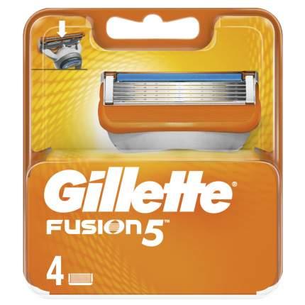 Сменные кассеты Gillette Fusion5 4 шт