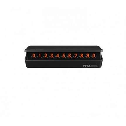 Парковочная карта Xiaomi BCASE TITA Temporary Parking Card Black TITA-B