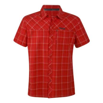 Рубашка Bergans Langli SS, red check, S INT
