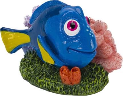 Грот для аквариума Penn-Plax Голубой хирург Дори, полиэфирная смола, 4,5х5х6,5 см
