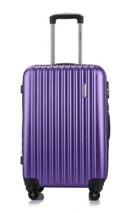 Чемодан с расширением L'Case Krabi-22 Фиолетовый M