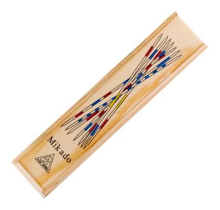 Настольная игра Палочки Микадо, 31 деревянная палочка ЛАС ИГРАС
