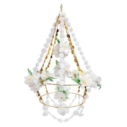 Подвеска из бумаги и ткани Meri Meri Белый цветок