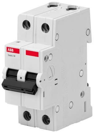 Выключатель автоматический Basic M, BMS412C63, 2 P, 63 A, C, 4,5 кА